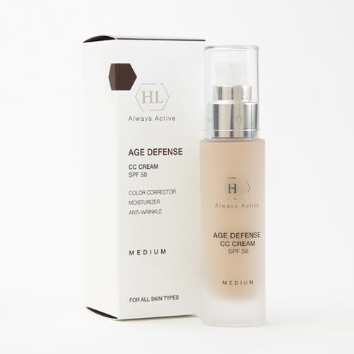 Holy Land AGE DEFENSE CC Cream Medium (SPF50)| Корректирующий крем, 50 мл